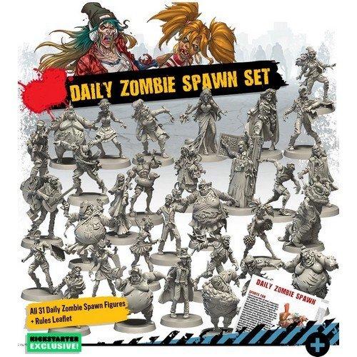 Zombicide Seconda Edizione, Daily Zombie Spawn Set  (Lingua: Inglese - Stato: Nuovo)