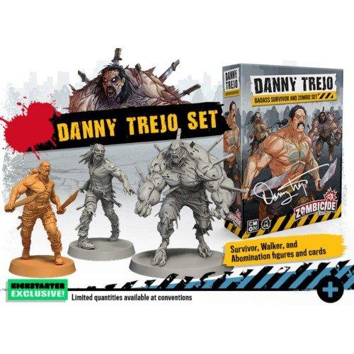 Zombicide Seconda Edizione Danny Trejo Survivor & Zombie Set  (Lingua: Inglese - Stato: Nuovo)