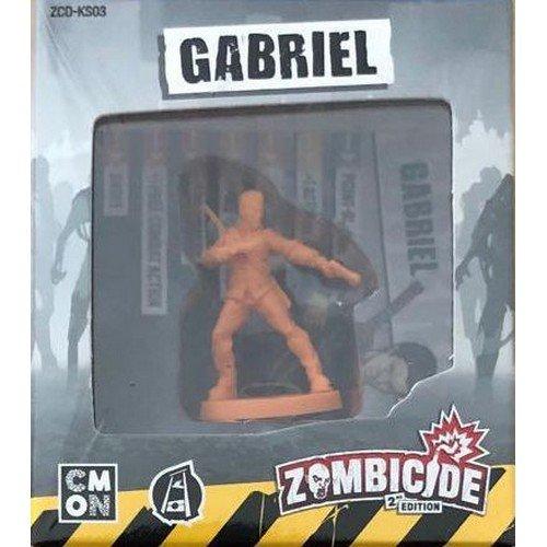 Zombicide Seconda Edizione, Gabriel Esclusiva Kickstarter  (Lingua: Inglese - Stato: Nuovo)