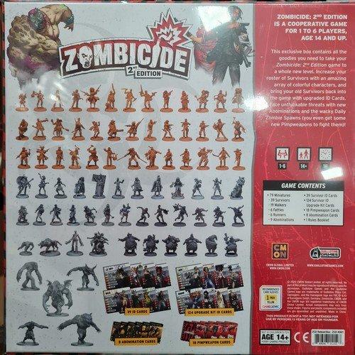 Zombicide Seconda Edizione, Reboot Box  (Lingua: Inglese - Stato: Nuovo)