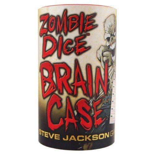 Zombie Dice Brain Case  (Lingua: Inglese - Stato: Nuovo)